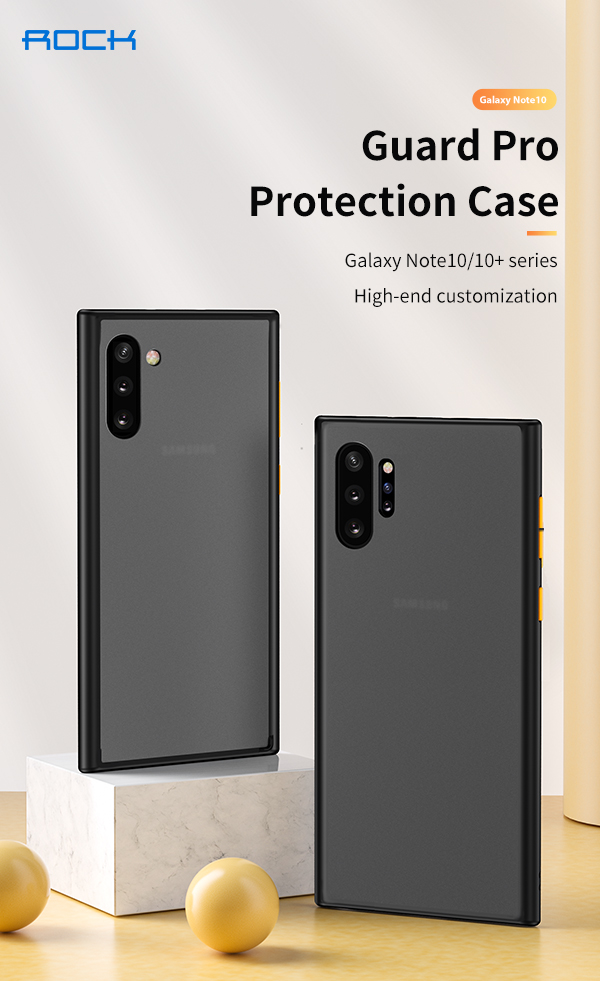 REGO Communication Sdn Bhd - Rock Space | ROCK Samsung Galaxy Note 10 Guard series (Anti Drop Case)