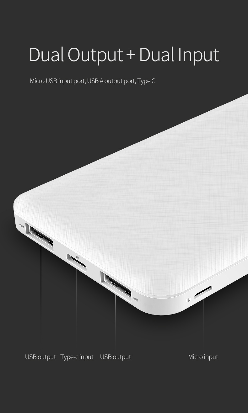 REGO Communication Sdn Bhd - Rock Space | rock space P46 Power Bank (10000mAh)