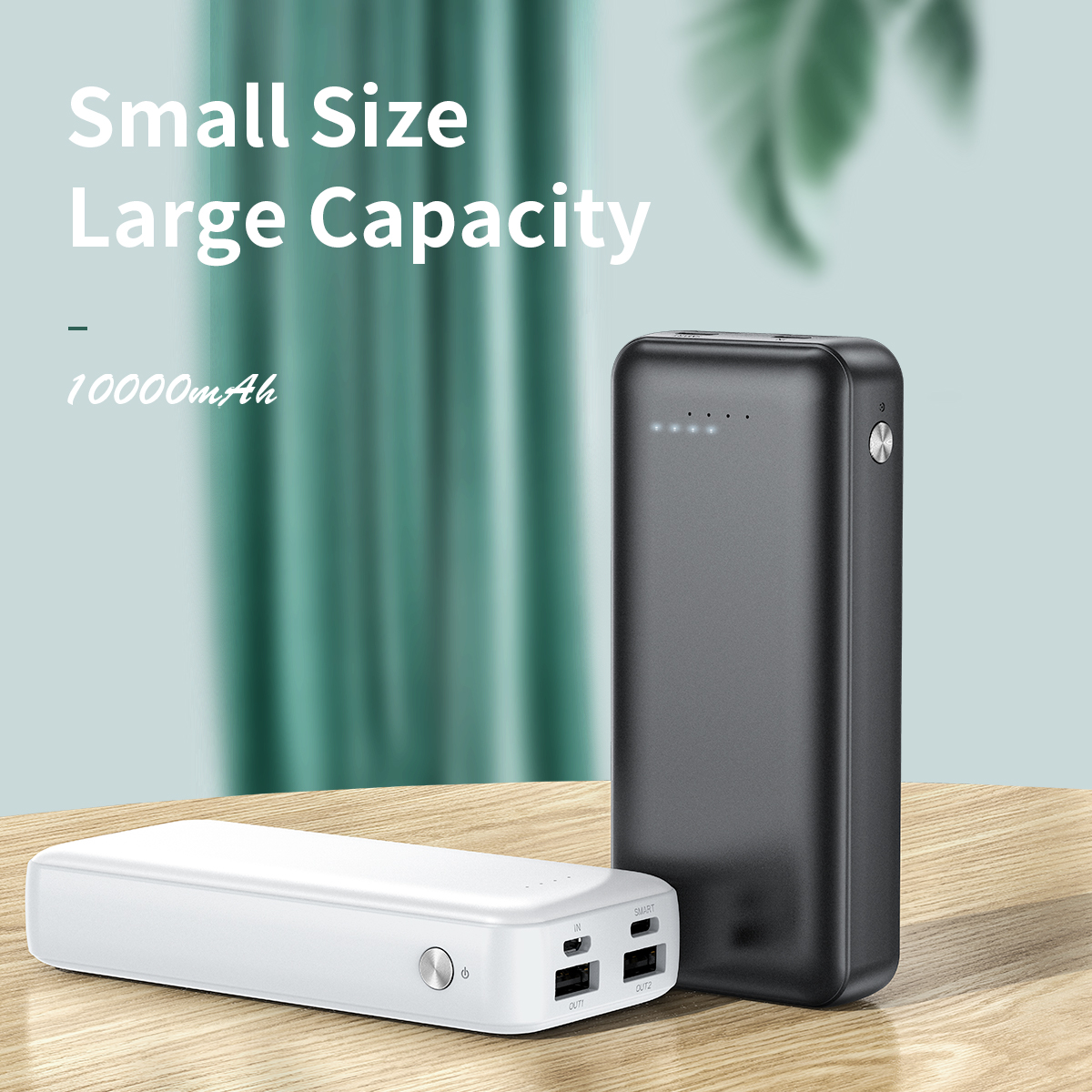ROCK P76 Mini Power Bank (10000mAh)