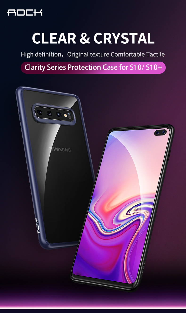 Samsung Galaxy S10 & S10 Plus ROCK Clarity series