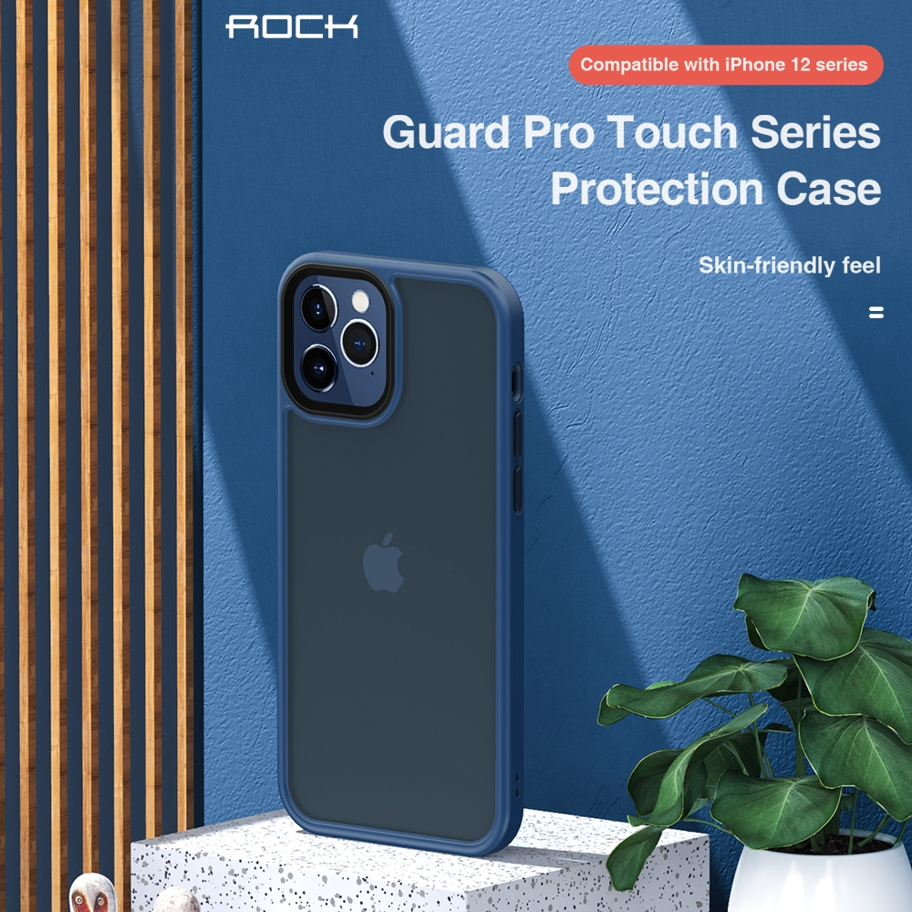 REGO Communication Sdn Bhd - Rock Space | Apple iPhone 12/iPhone 12 Mini/iPhone 12 Pro/iPhone12 Pro Max ROCK Guard Pro Matte Series  (Anti Drop Case)