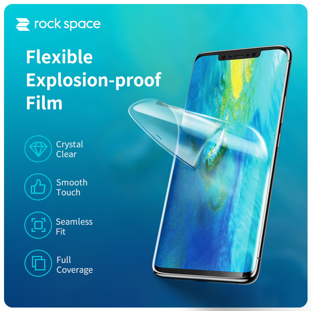 REGO Communication Sdn Bhd - Rock Space | rock space Screen Protector (Front, HD Clear)